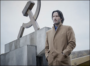 "Keanu Reeves in ""Siberia"""