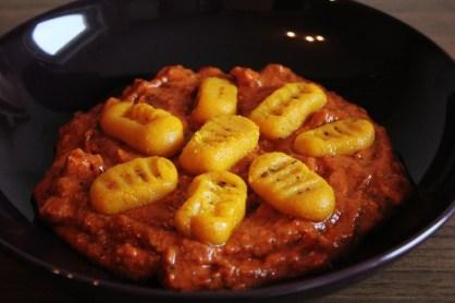 Squash Gnocchi & Tomato Sauce | Kürbis-Gnocchi mit Tomatensauce