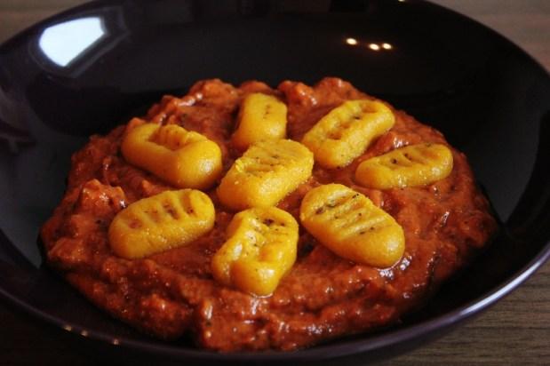 Squash Gnocchi & Tomato Sauce   Kürbis-Gnocchi mit Tomatensauce