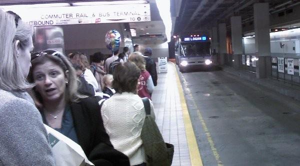 bus to logan airport