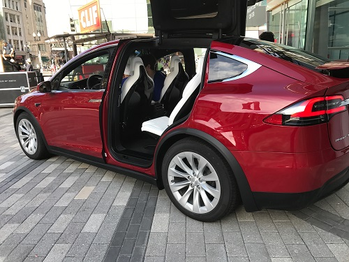 Tesla Electric Suv