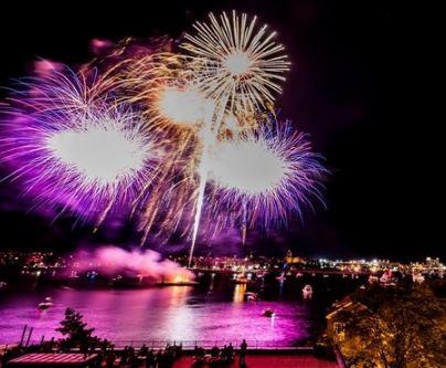 Harbor Fest Fireworks in Boston