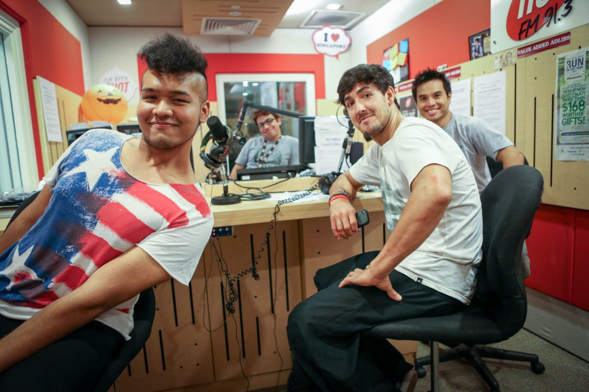 HotFM Parkour Interview on Jump Asia - Asia's First Parkour Festival with Daniel Ilabaca and Derrick Siu