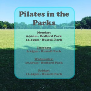 Pilates in the park