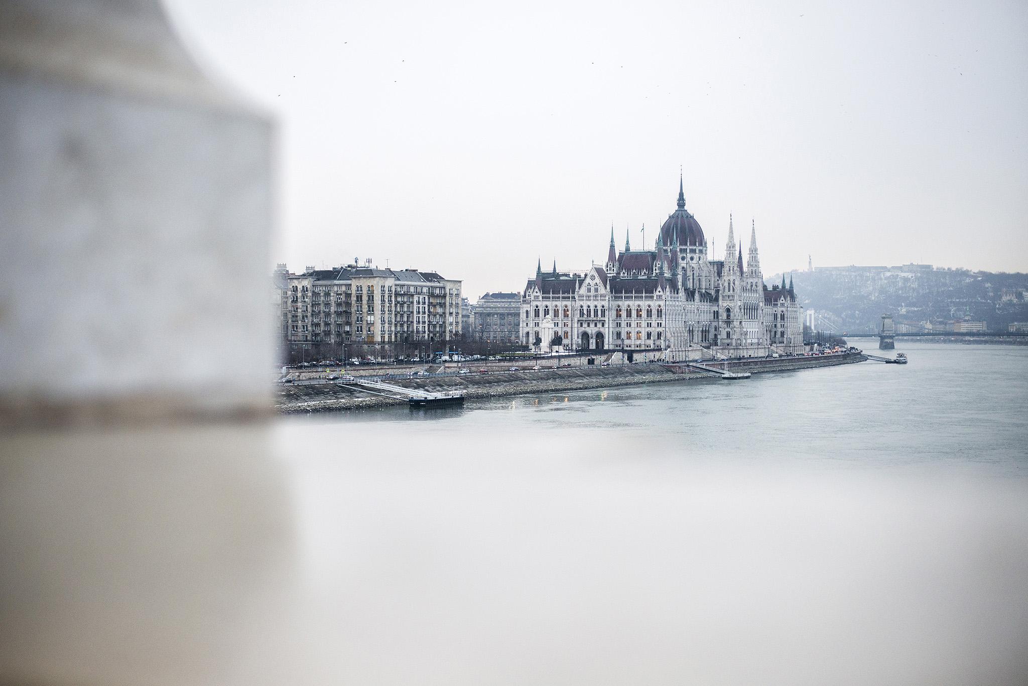 budapest panorama parlamento danubio