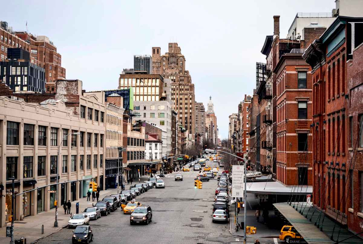 New York, la vista dalla High Line