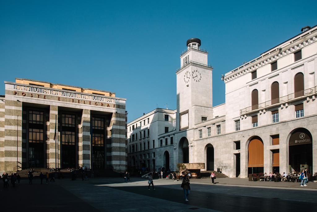 brescia piazza della vittoria architettura cosa vedere cosa fare lombardia italia blogger italiani