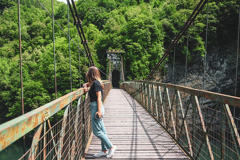 lago del corlo ponte della vittoria veneto gita fuori porta
