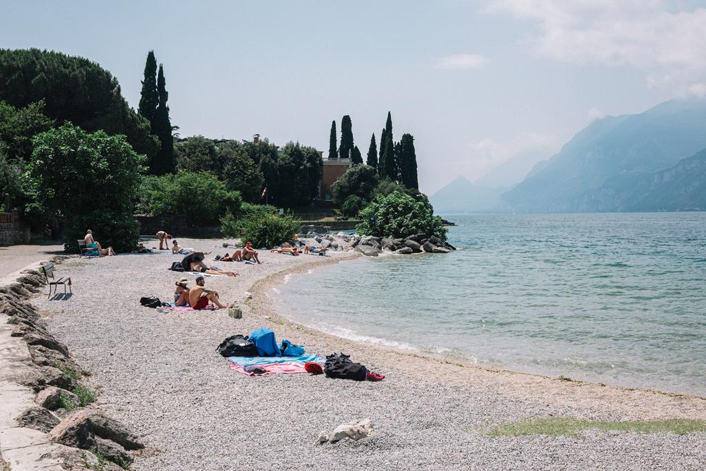 spiaggia val di sogno malcesine lago di garda