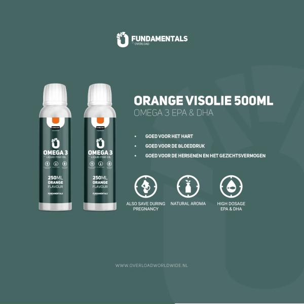Fundamentals Orange Omega-3 Visolie