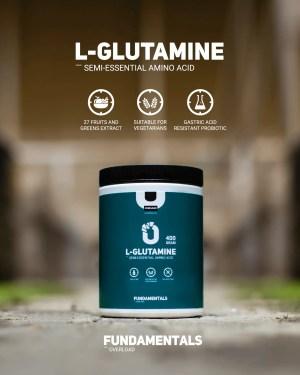 Fundamentals L-Glutamine 500gram