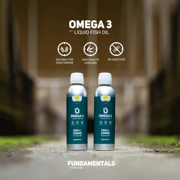 Fundamentals Lemon Omega 3 Visolie 500ml