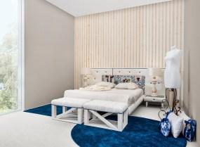 Quarto Casal estofado. Transforme o seu quarto num Quarto de Sonho!