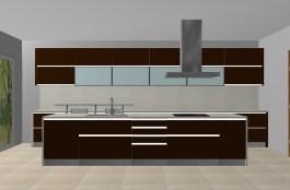 Projecto 3D de Cozinha. Fabricamos cozinhas por medida!