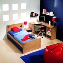 Quarto juvenil em 100%madeira maciça. Personalizamos o nosso mobiliário, contacte-nos!