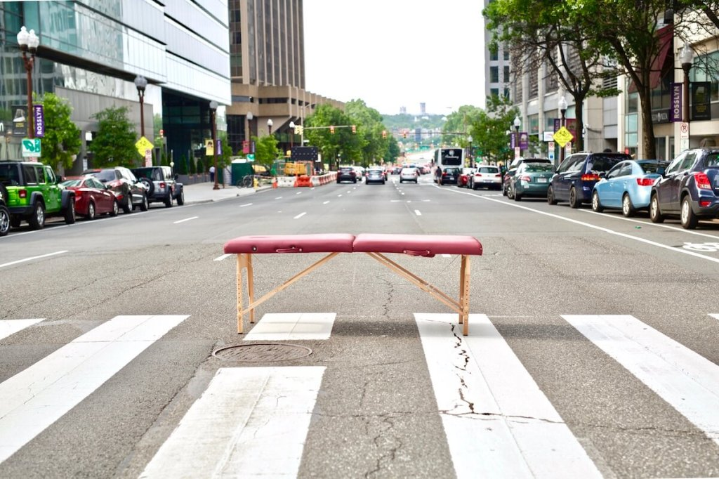 mobile physical therapy treatment table in Washington DC