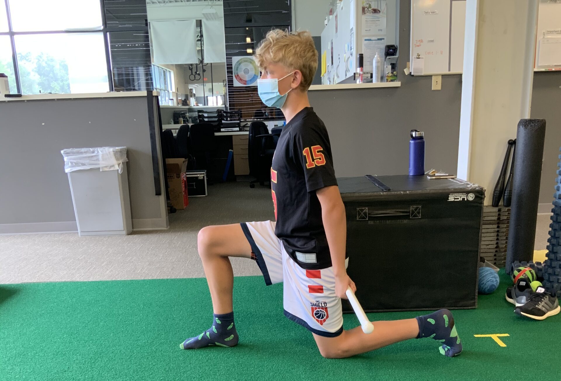 The Bottom of Lunge Shape