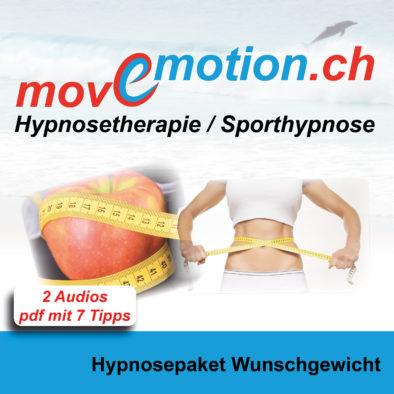 Hypnosepaket Wunschgewicht