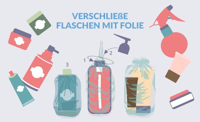 Flaschen verpacken