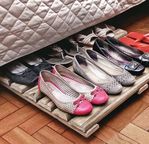 5 astuces originales pour un rangement des chaussures
