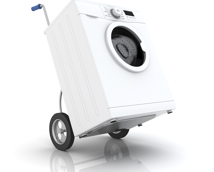 MOVERIA - Comment déménager une machine à laver?