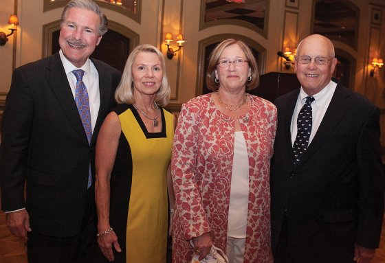 ERH CEO Doug Spitler and wife Kathy with honorees Digi and Mike Schueler