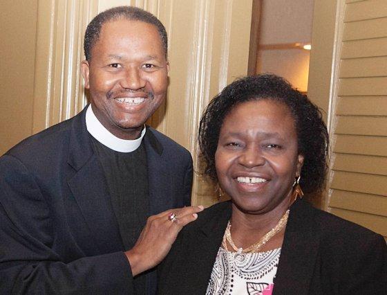 The Rev. John Agbaje and his wife, Bummi