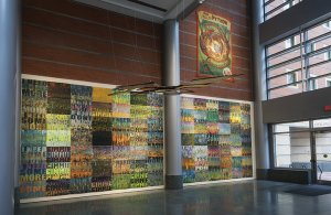 Weston Art Gallery street-level space, 2016