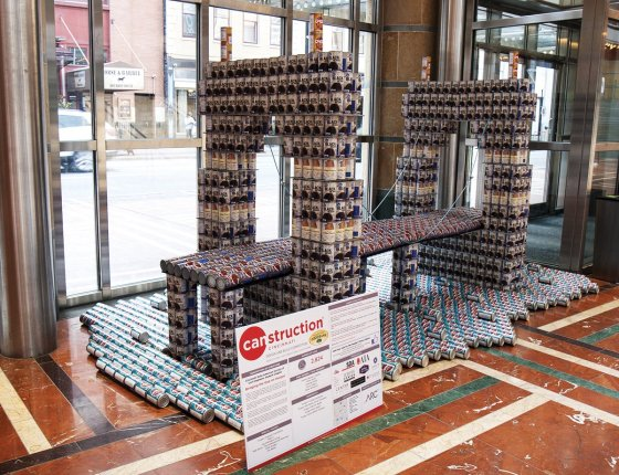 "Cincinnati State, ""Bridging the Gap on Hunger,"" at Aronoff Budig Lobby"