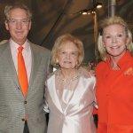 Longtime Flower Show sponsors and supporters Craig Lindner, Edyth Lindner and Frances Lindner