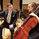 Ilya Finkelshteyn and Jacqueline Pegis