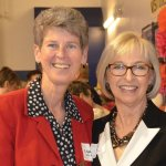 Sister Sally Duffy of the SC Ministry Foundation with DPCR board chair Barb Bennie