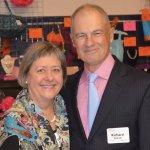 Table sponsors Linda Holthaus and Richard Zinicola