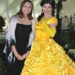 Megan Campbell, co-chair of the Afternoon Tea, with Miss Southern Belle