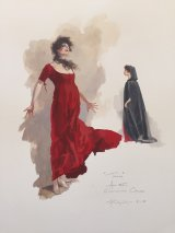 Opera Tosca costume design