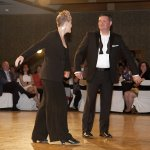 Talent co-champion Jamie Ramsey and Desiree' Mainous