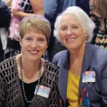 Charlotte Hahn and Sandra Laney