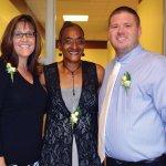 Staff members Jodi Landers, Bernadette Payne and Matt Price