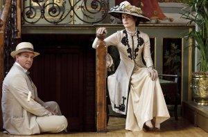 Downton Abbey (PBS) Season 1, 2010 Shown from left: Hugh Bonneville, Elizabeth McGovern