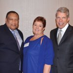 Dr. O'dell Owens, Valerie Landell and Doug Bolton