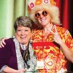 Shining Star award winner Kathy Davis and Kristin Shrimplin, WHW president and CEO
