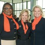 Karen Bankston, UC College of Nursing; Maribeth Rahe, Fort Washington Investment Advisors; and Lee Ann Liska
