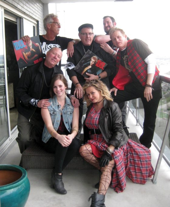 The punks making this happen: (back) co-chair John Gillespie, Kent Shaw, co-chair Sean Guilfoile and Jerry Freed; (front) Jeff Thomas, Chelsey Lonneman and Meghan Ferguson