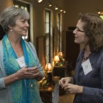 Mary Ann Barnes and Dr. Dotty Shaffer
