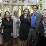 Sian Cotton, Amy Murray, Anne Ilyinsky, opera singer Murrella Parton, accompanist John Combs, Barbara Gould