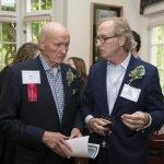 Dr. John Tew and Robert Edmiston