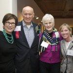 Elizabeth Kuresman, Dr. John Tew, Susan Tew, Meg Hopple