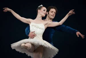 "Sara Hairston and Zack Grubbs Cincinnati Ballet's 2014 ""Symphony in C"""