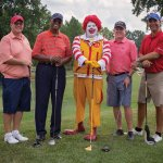 The PNC foursome: Matt Ulliman, Ernie Green, Phil Wehrman and Chris Belletti