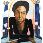 Price Hill Will: Portrait of Nina Simone by Lizzy DuQuette